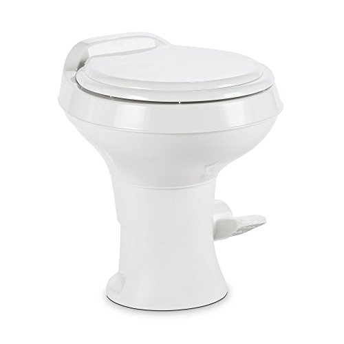 Dometic 300 Series Standard Height Toilet, White