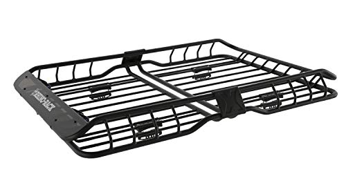 Rhino-Rack USA RMCB03 Roof Mount Cargo Basket 58.27 in. x 42.91 in. x 5.91 in. Roof Mount Cargo...