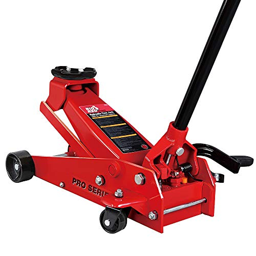 BIG RED T83012 Torin Pro Series Hydraulic Floor Jack with Single Quick Lift Piston Pump and Foot...
