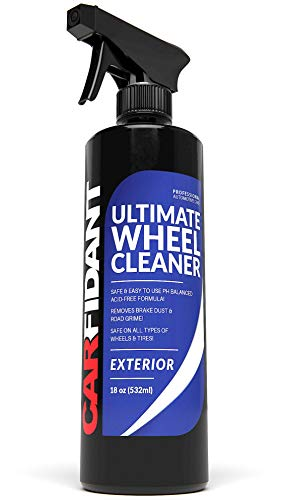 Carfidant Ultimate Wheel Cleaner Spray - Premium Rim & Tire Cleaner - Safe for all wheels and rims!...