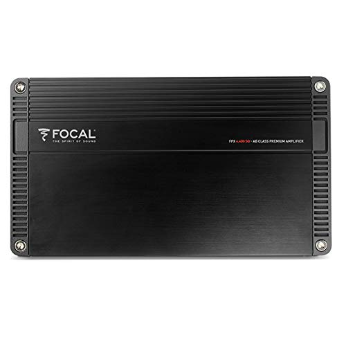 Focal FPX 4.400SQ 70 Watts x 4 Compact Class AB 4-Channel Amplifier