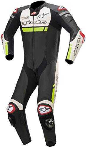 Alpinestars Men's Missile Ignition Leather One Piece Motorcycle Suit Tech-Air Compatible,...