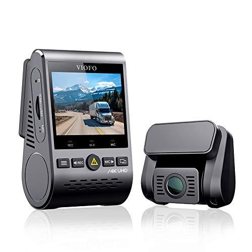 VIOFO A129 Pro Duo 4K Dual Dash Cam 3840 x 2160P Ultra HD 4K Front and 1080P Rear Car WiFi Dash...