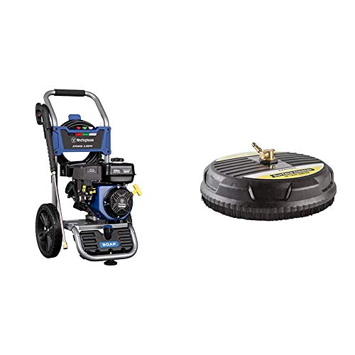 Westinghouse WPX2700 Gas Powered Pressure Washer 2700 PSI and 2.3 GPM, Soap Tank and Four Nozzle...