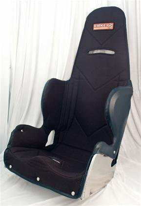NEW KIRKEY 20' RACING INTERMEDIATE SEAT & BLACK COVER, 20 DEGREE LAYBACK, LATE MODEL, MODIFIED,...