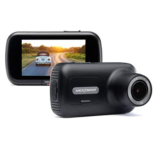 Nextbase 322GW Dash Cam 2.5' HD 1080p Touch Screen Car Dashboard Camera, Quicklink WiFi, GPS,...