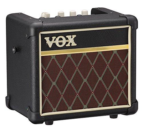 VOX MINI3 G2 Battery Powered Modeling Amp, 3W, Classic (MINI3G2CL)