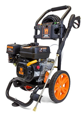 WEN PW3100 3100 PSI 2.5 GPM Gas Pressure Washer with 208cc Engine (CARB Compliant)