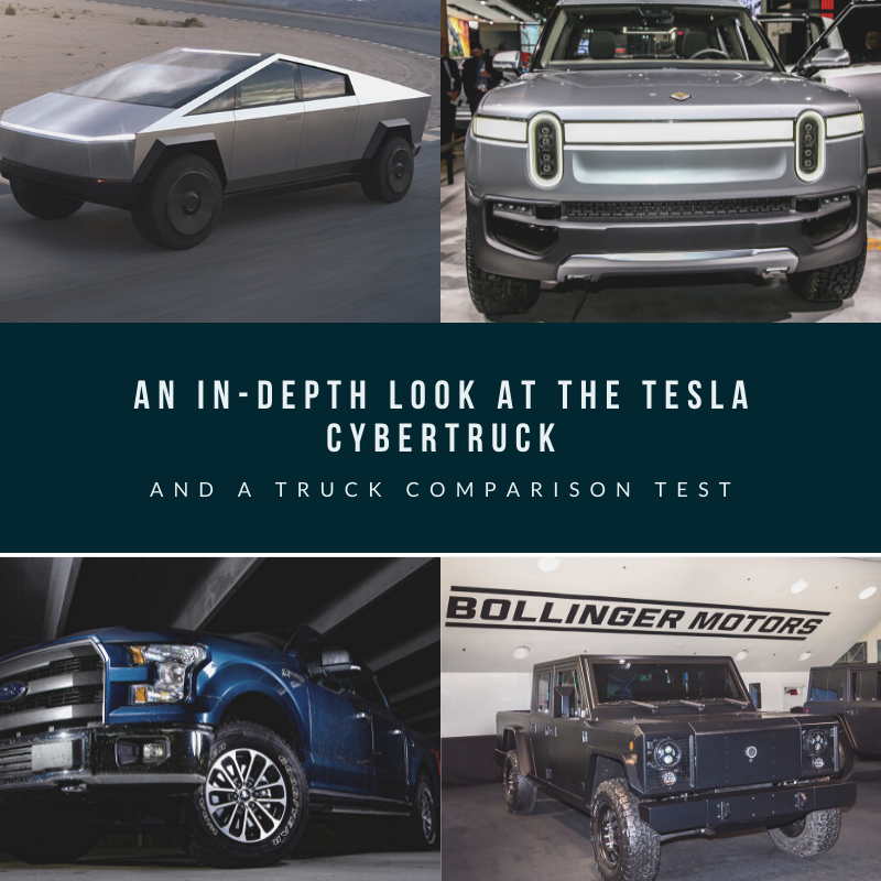 an in depth look at the tesla cybertruck