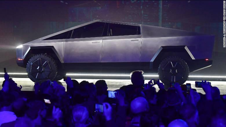 Internet Reacts to Tesla Cybertruck Design