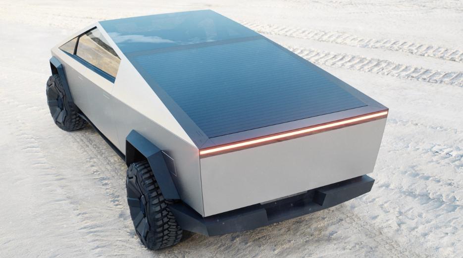 Tesla Cybertruck Solar Panel
