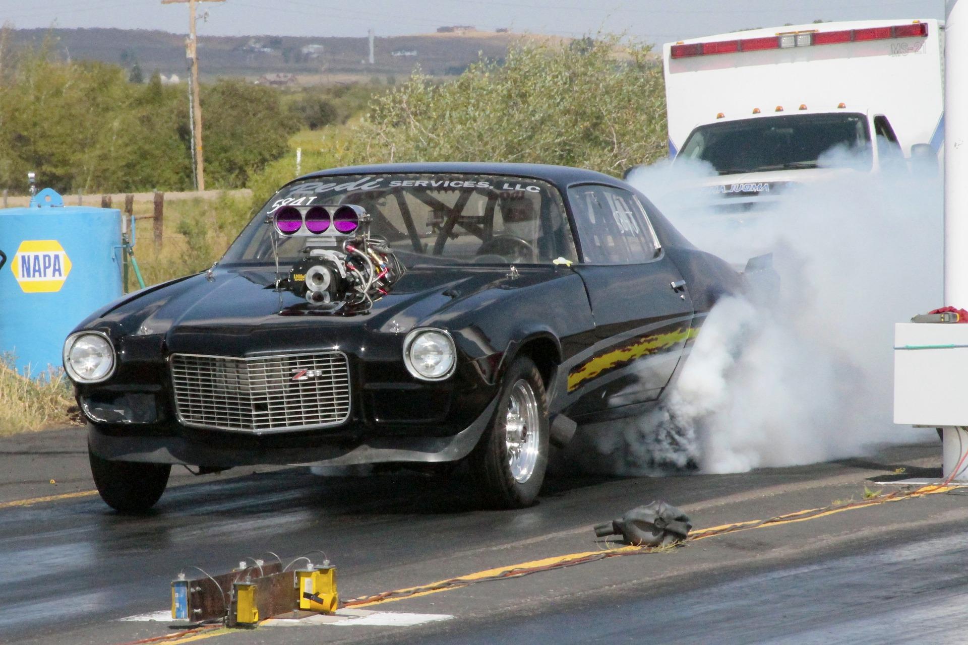 race car hood