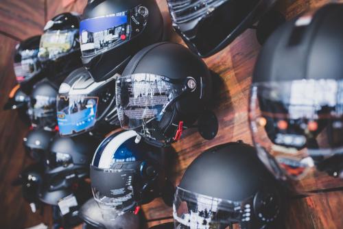 Lots Of Helmets