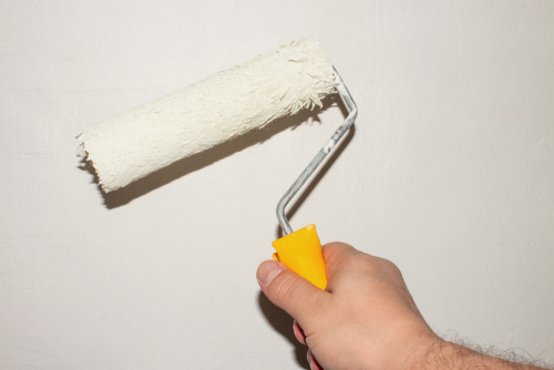painting a surface white