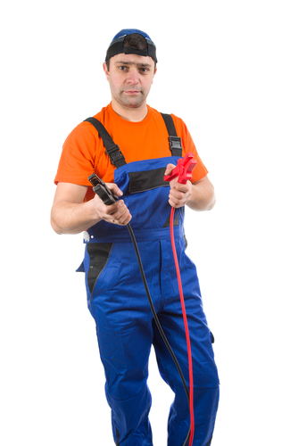 Guy With Jumper Cables