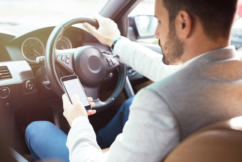 Don't Use Your Mobile Phone On The Road