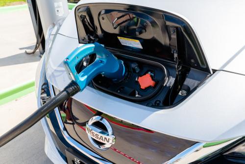 Nissan LEAF Charging Ports