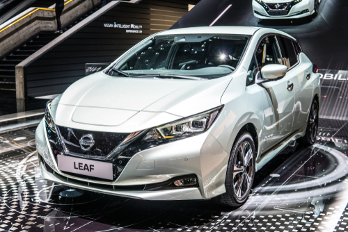 Nissan LEAF Showroom