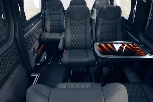 Inside A Minivan