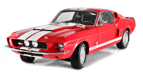 This is a typical muscle car