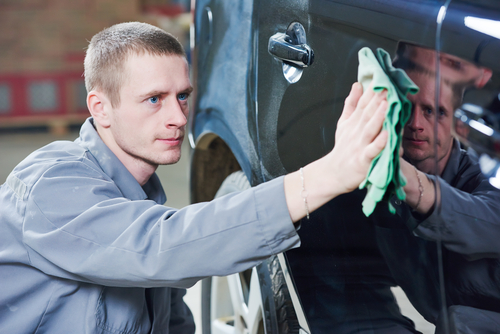 Dry Your Car Off With A Microfiber Towel