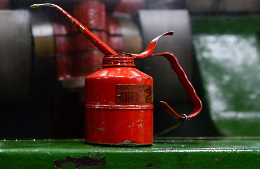 Are You Still Lubricating Parts Using An Old Oil Can?